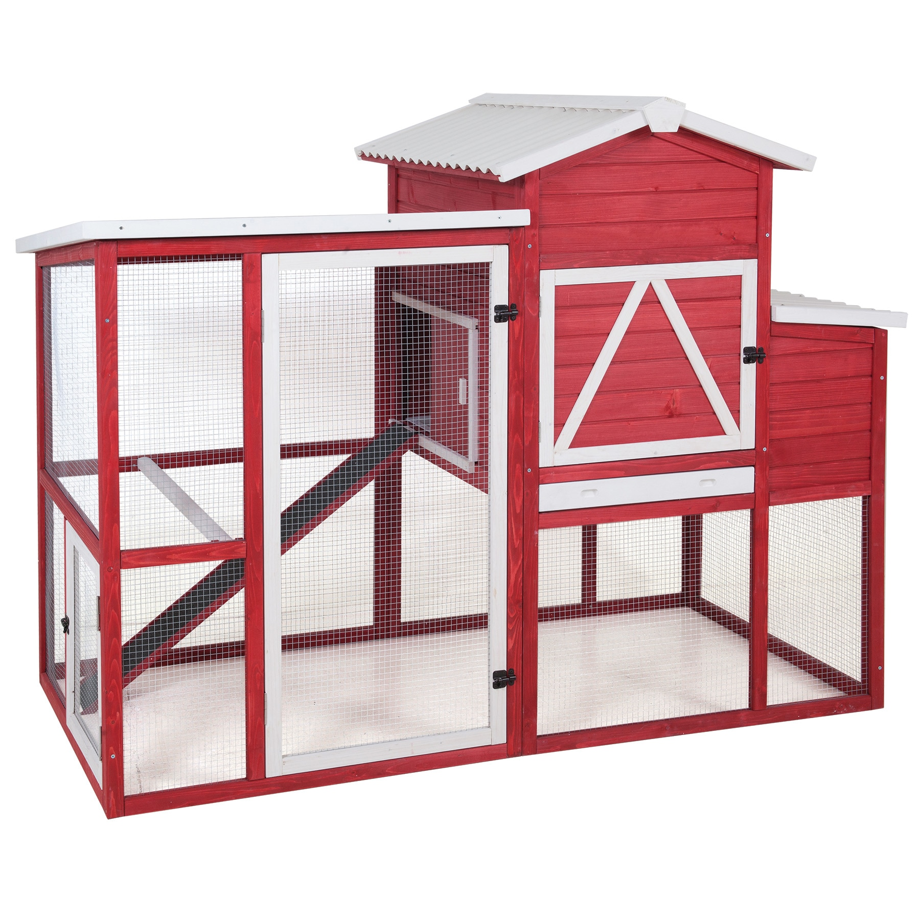 Precision Pet Red Barn Ranch Chicken Coop