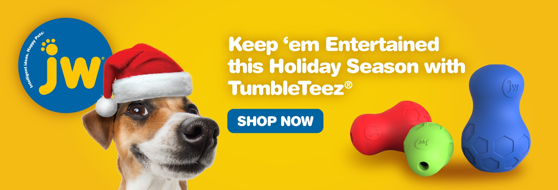 JW Tumble Teez Dog Toys